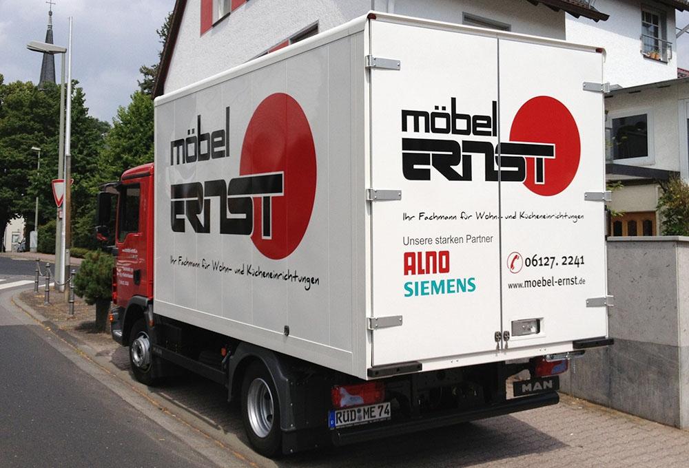 Möbel-Ernst-LKW